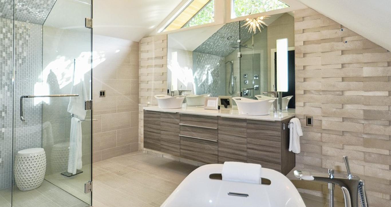 không gian nhà tắm cần khi mua thiết bị vệ sinh