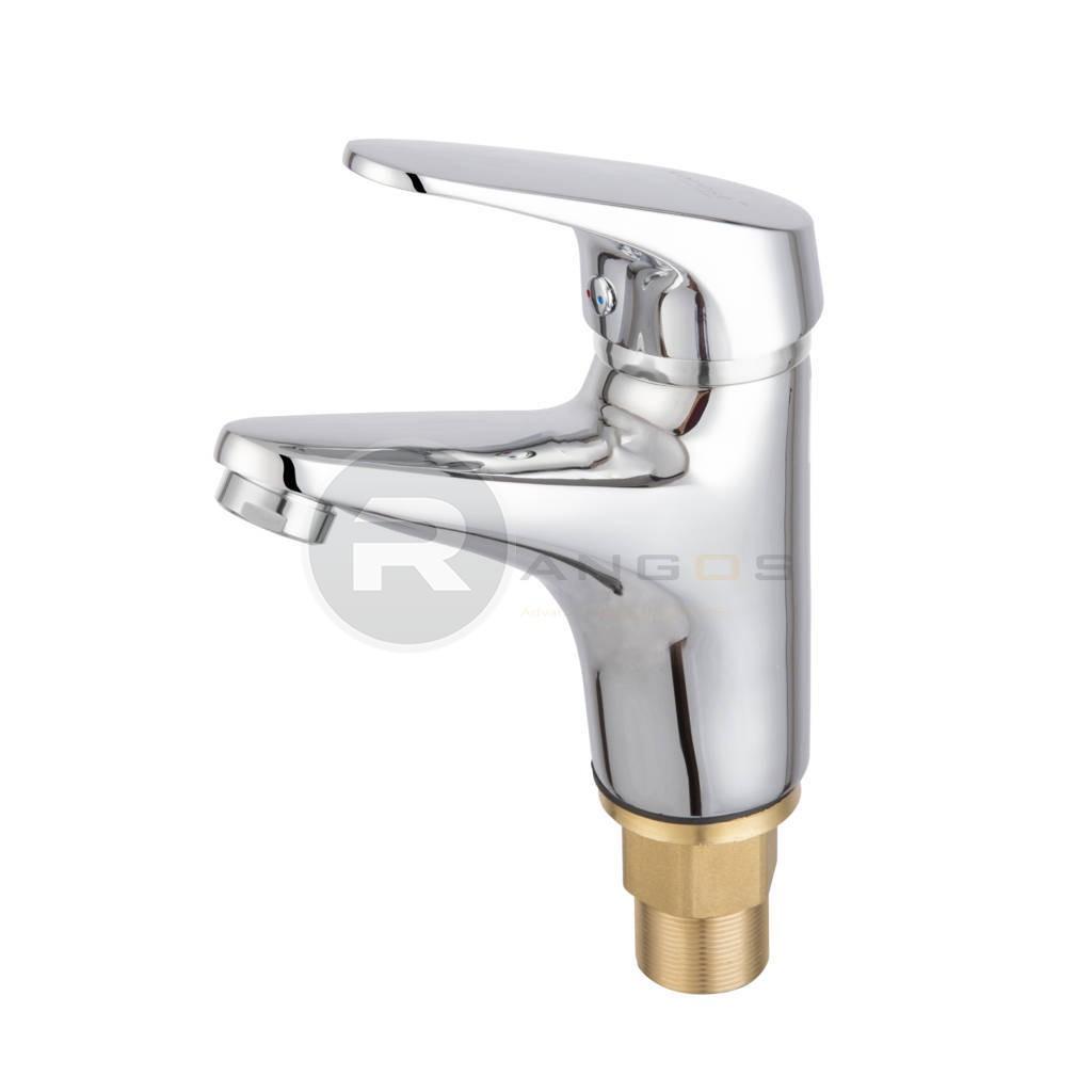 Bộ vòi chậu lavabo 1 lỗ Rangos RG-01V1