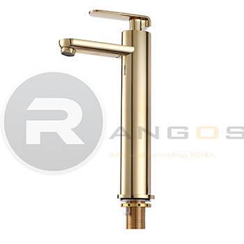 Vòi 1 lỗ vàng 35cm cao cấp Rangos RG-305V5
