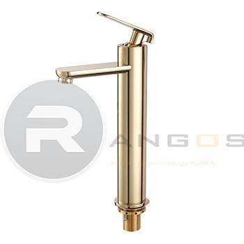 Vòi 1 lỗ vàng 35cm cao cấp Rangos RG-305V5 2